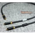 1m CopperColour CC Moon V 2 RCA Male To Male Cable 1.6 OCC Copper + PVC