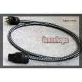 1m CopperColour CC Moon III Power Cable 5N 4.2 OCC Copper Hifi