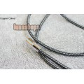 1m CopperColour CC Moon III XLR Cable 1.6 OCC Copper + PVC Hifi