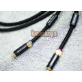 1m Copper Colour CC Special Version RCA Signal Cable Memento-BE