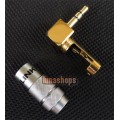 ACROLINK FP-3.5L(G) 3.5mm Stereo Male Gold plated L Shape adapter for diy