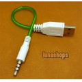3.5mm 4 poles Male To USB Male Stereo Audio Cable Adapter For wholesale Now JD25