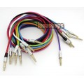 9 Color for choosing 3.5mm male to Male Audio Cable 100cm long Metal Version JD5
