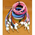10 Color for choosing 3.5mm male to Male Audio Cable 100cm long quadrate Version JD10