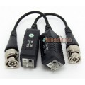 1 pair Camera CCTV BNC CAT5 Video Balun Transceiver Cable adapter