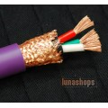 1m acrolink ac-313(Cu) 2.5m*3 50*0.25 OFC Spealker Power cable