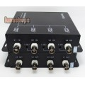 4 Channel Camera BNC Video Signal Multiplexer Box Adapter For CCTV