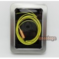 1.2m Custom Handmade Cable For Shure se535 se846 ue900 earphone headset OFC 8N Yellow/white