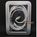 Silver Plated OFC Cable For Westone W4r UE18 UE18PRO UM3XRC ES5 ES3 Earphone Headset