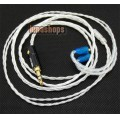 Silver Plated Cable For Shure Se425 se535 se846 ue900 earphone headset