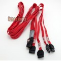 Mini SAS Host (Molex 79575-6004) to 4 SATA target Splitter cable 1m