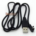 90 Degree USB Power Charger Cable for Huawei Mediapad S7-301U Android Tablet