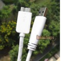 47cm White USB 3.0 Male Type A to Micro B Plug Super-Speed Cable Adapter Converter