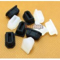 2pcs Silica Gel Dustproof dustfree dust prevention Plug Adapter For 1394 6pin Female port