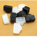 2pcs Silica Gel Dustproof dustfree dust prevention Adapter For Rj45 Female port