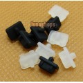 2pcs Silica Gel Dustproof dustfree dust prevention Adapter For 1394 4pin Female port