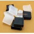 2pcs Silica Gel Dustproof dustfree dust prevention Plug Adapter For USB A2 With Hole Female port