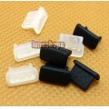 2pcs Silica Gel Dustproof dustfree dust prevention Plug Adapter For Mini USB Female port