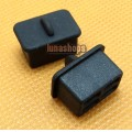2pcs Silica Gel Dustproof dustfree dust prevention Adapter For SFP Fiber Female port