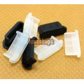 2pcs Silica Gel Dustproof dustfree dust prevention Plug Adapter For Mini HDMI Female port