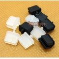 2pcs Silica Gel Dustproof dustfree dust prevention Plug Adapter For Mini DP Female port