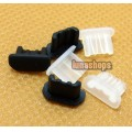 2pcs Silica Gel Dustproof dustfree dust prevention Plug Adapter For Micro USB Female port