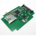 SD SDHC MMC to SATA Adapter Converter Card Supports Up To 32GB SD Card