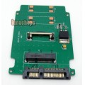 Mini MSATA PCI-E SSD 3cmx2.7cm to 2.5