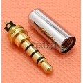 For DIY Earphone Upgrade Cable 4 Pole 3.5mm Audio Adapter