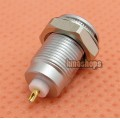 1pcs Female 1 Pins Connector Coaxial Adapter For Audio GPS Cable DIY headphone