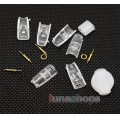Korea Mould Series- Sennheiser IE8 IE7 IE80 Earphone Pins With Cover Transparence