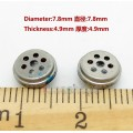 2pcs 7.8mm Sound Speaker Unit For Earphone Headset Repair Upgrade DIY Custom