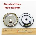 1 Pair titanium Plated + copper collar Dia 40mm Repair Parts Speaker Unit For DIY Custom Headphone