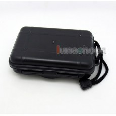 Waterproof Larger Size Earphone Headphone Cable Box Case For Shure se535 Sennheiser HD598 etc.
