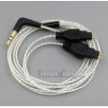 Lightweight Silver Plated 4N OCC Cable For Sennheiser HD414 HD420 HD430 HD650 HD600 HD580