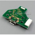 Repair Parts 12 Pin charge port usb charger board For PS4 Controller