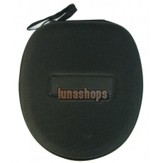 Big Headset Earphone Carrying Pouch Hard Bag Case