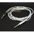 Pure Silver 3.5mm Male to Male Upgrade cable