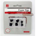 Premium Earphone Upgade Foam Tips For Sony Xba-30 Xba-40 NC033 NC020 etc.