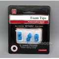 Premium Upgrade Earphone  Foam Tips With Plastic Tube For Sony JVC Sennheiser etc.