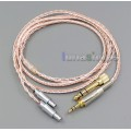 800 Wires Soft Silver + OCC Alloy Teflon AFT Earphone Cable For Sennheiser HD800 HD800s Headphone