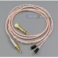 800 Wires Soft Silver + OCC Alloy AFT Earphone Cable For Westone W40 W50 W60 UM10 UM20 Pro