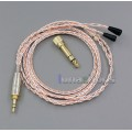 800 Wires Soft Silver + OCC Alloy AFT Earphone Cable For Sennheiser IE8 IE80i Headphone