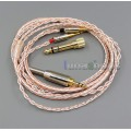 800 Wires Soft Silver + OCC Alloy AFT Earphone Cable For Oppo PM-1 PM-2 Planar Magnetic