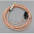 1.2m With Slide Block Copper Shielding Earphone Cable For Sennheiser IE8 IE8i