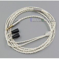 $20 00 - 3 5mm With Earphone Hook Silver Foil Plated PU Skin