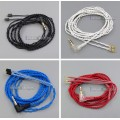 JYL OCC Series With Earphone Hook Cable For W4r UM3X UM3RC ue11 ue18 JH13 JH16 ES3