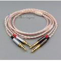 800 Wires Soft Silver + OCC Alloy AFT Earphone Headphone Cable For sony PHA-3 Pandora hope VI