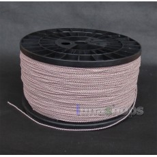 1m Semi-finished Earphone Silver Plated + OCC Foil PU Hi-res Skin Insulating Layer Bulk Cable For DIY Custom