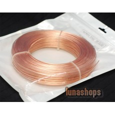 1m Outside Dia:1.5mm 19Pins*0.32mm Acrolink OCC Signal Hi-res Wire Cable  For DIY Hifi 99.99999% Pure Copper